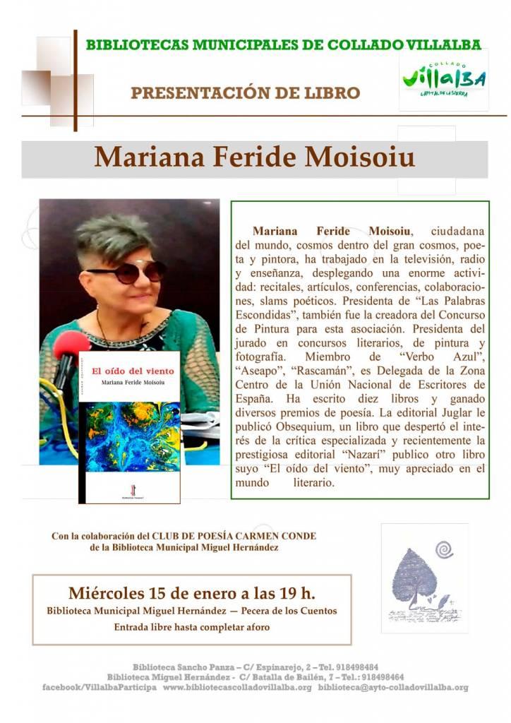 El oído del viento - Mariana Feride - Collado Villalba