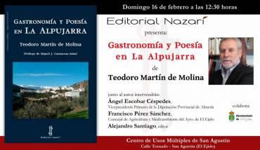 'Gastronomía y poesía en La Alpujarra' en El Ejido