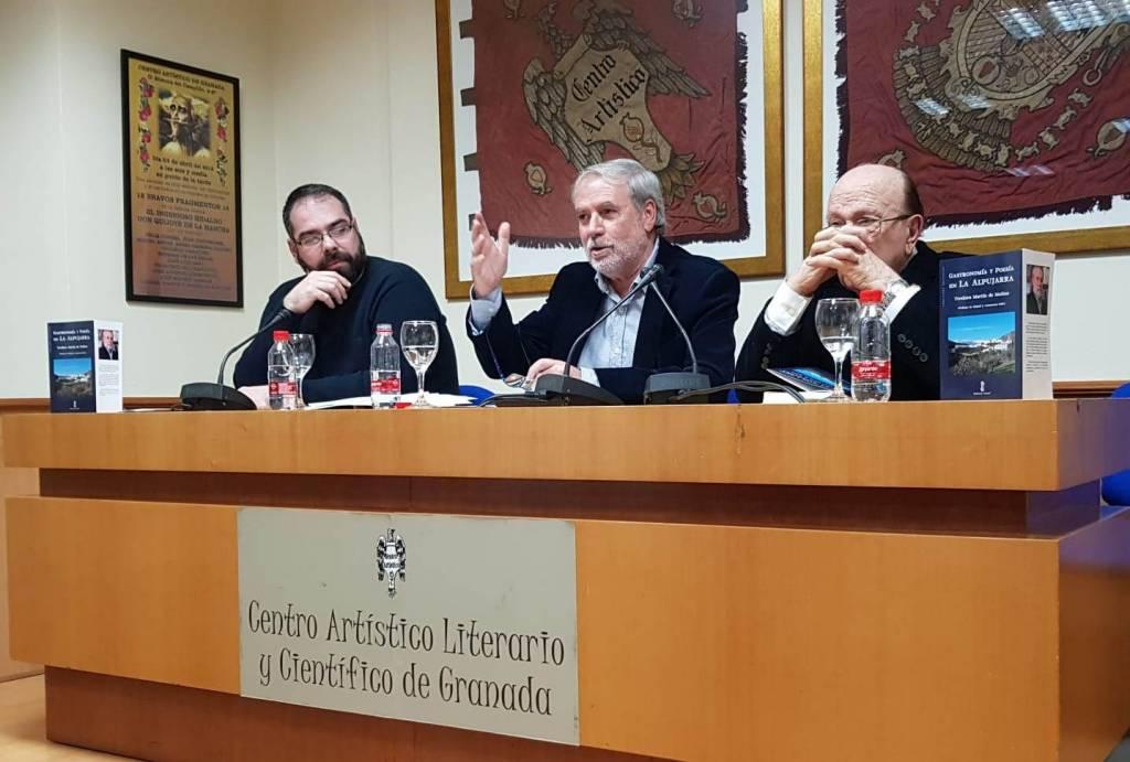 Gastronomía y poesía en La Alpujarra - Teodoro Martín de Molina - Centro Artístico 01