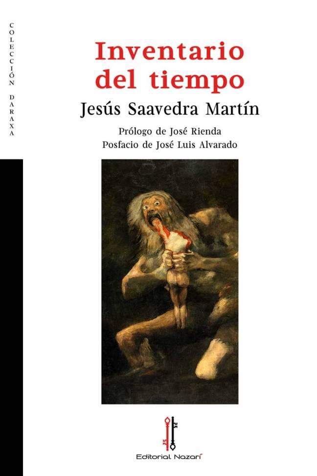 Inventario del tiempo - Jesús Saavedra Martín - Portada