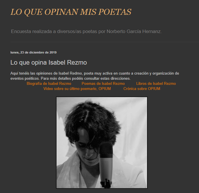 Isabel Rezmo - Norberto García Hernanz
