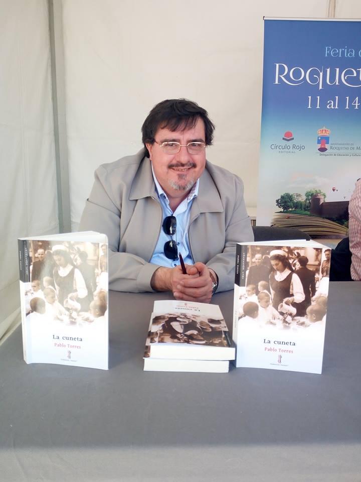 La cuneta - Pablo Torres - Feria del Libro de Roquetas 01