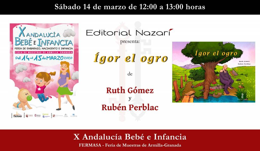 Ígor el ogro - Ruth Gómez - Andalucía Bebé e Infancia