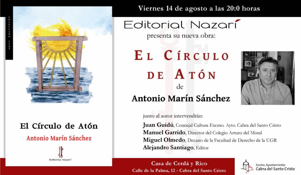 El Círculo de Atón - Antonio Marín Sánchez - Cabra del Santo Cristo