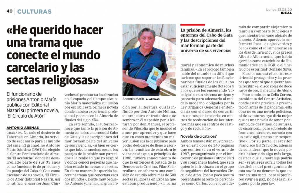 Antonio Marín Sánchez en Ideal