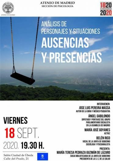 'Presencias y ausencias' en el Ateneo de Madrid
