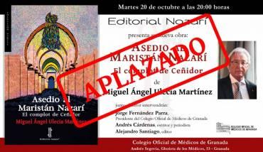 (APLAZADO) 'Asedio al Maristán Nazarí' en el Colegio de Médicos de Granada