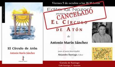 (CANCELADO) 'El Círculo de Atón' en la Semana de los Libros