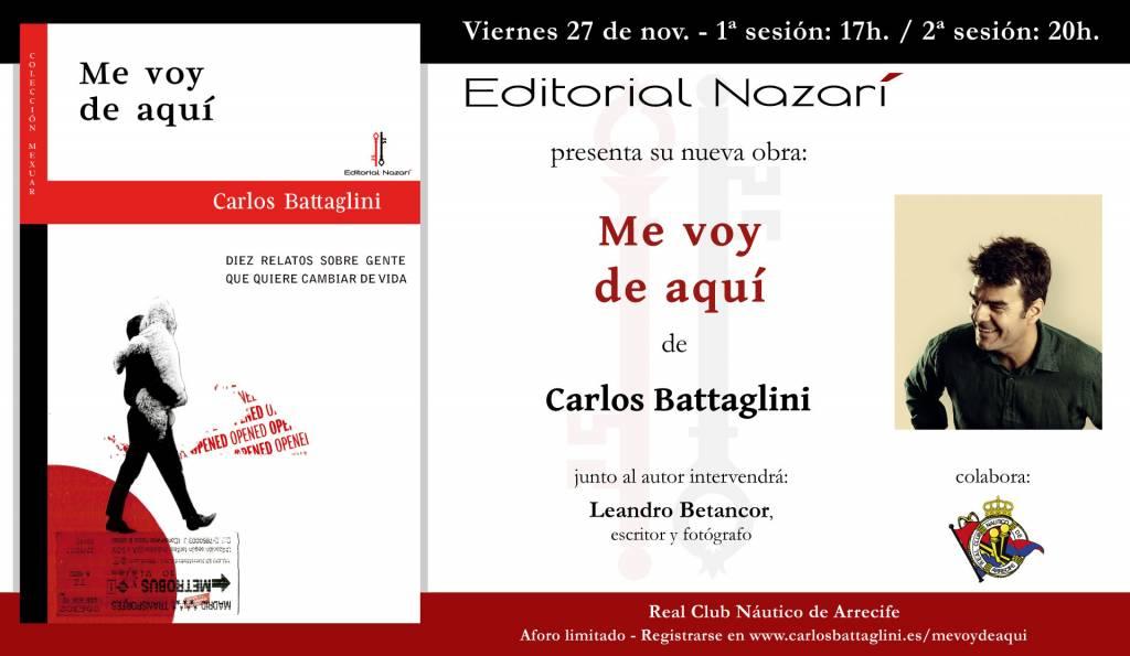 Me voy de aquí - Carlos Battaglini - Club Náutico Arrecife 27-11-2020