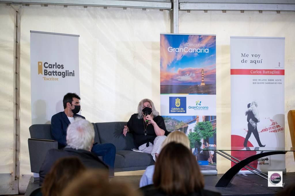 Me voy de aquí - Carlos Battaglini - Feria del Libro Las Palmas 02