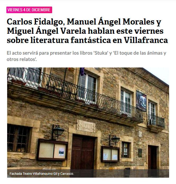 El toque de las ánimas y otros relatos - Manuel Ángel Morales Escudero - Cacabelos