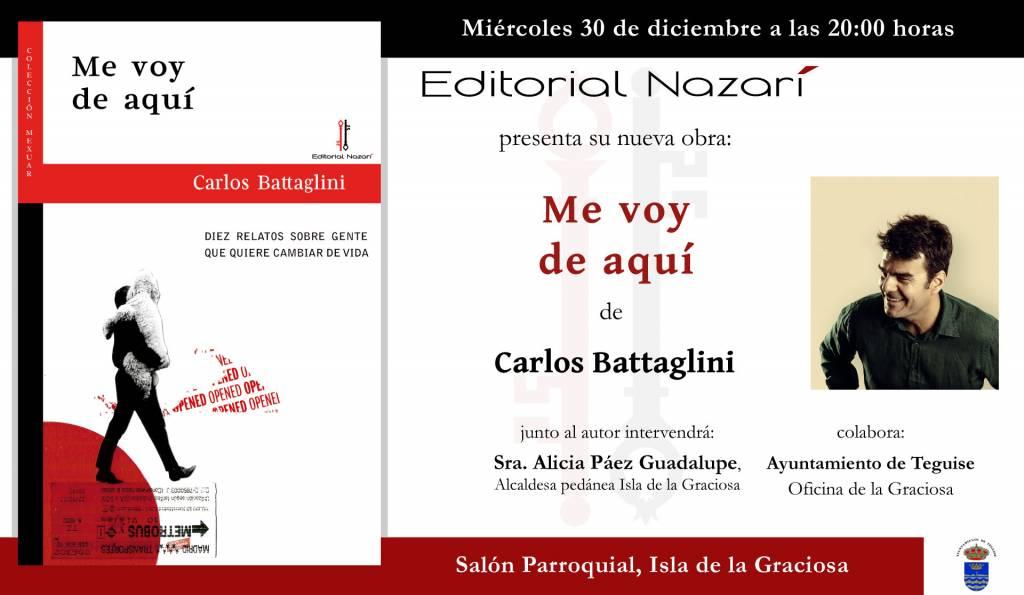 Me voy de aquí - Carlos Battaglini - La Graciosa 30-12-2020