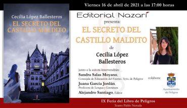 'El secreto del castillo maldito' en la IX Feria del Libro de Peligros