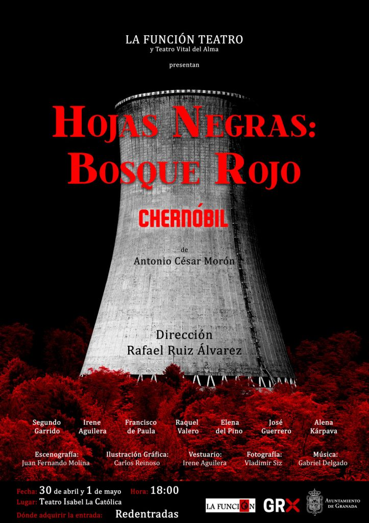 Hojas Negras Bosque Rojo Chernóbil - Antonio César Morón