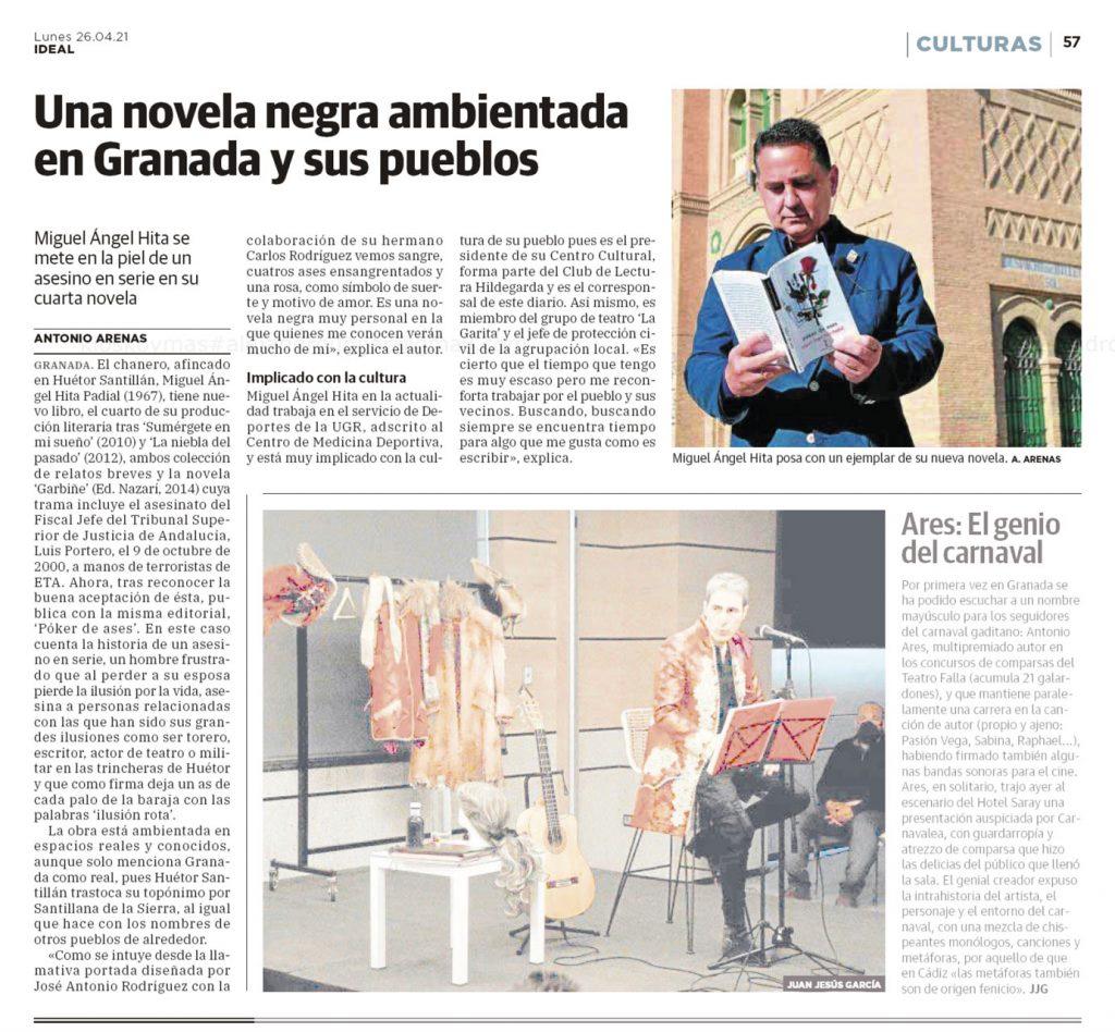 Póker de ases - Miguel Ángel Hita Padial - Ideal 2021-04-26