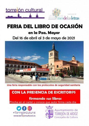 'Las leyes de Kirchhoff' en la Feria del Libro de Torrejón de Ardoz