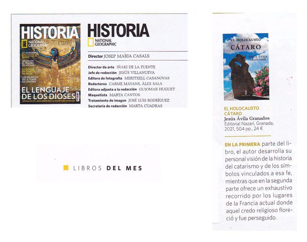 El holocausto cátaro - Jesús Ávila Granados - Historia. National Geographic Abril 2021