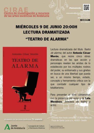 'Teatro de alarma'en Sevilla
