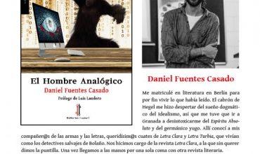 Firma Daniel Fuentes Casado en la Feria del Libro de Madrid