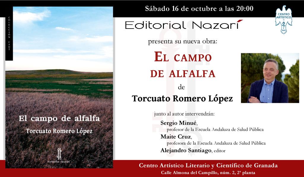 El campo de alfalfa - Torcuato Romero López - Granada 16-10-2021
