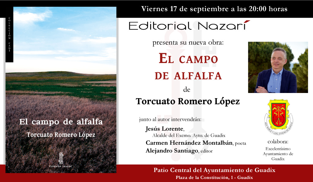 El campo de alfalfa - Torcuato Romero López - Guadix 17-09-2021