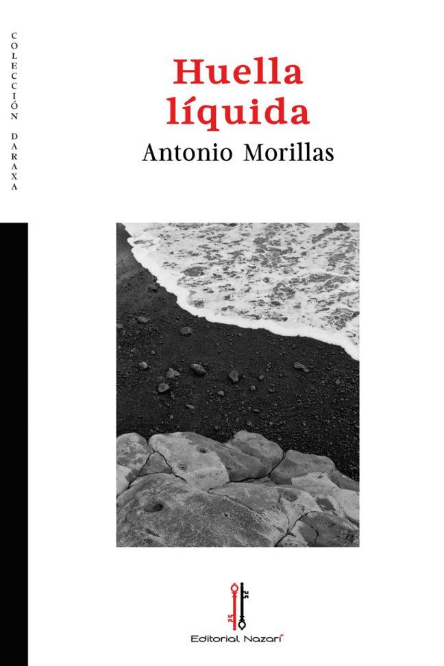 Huella líquida - Antonio Morillas - Portada