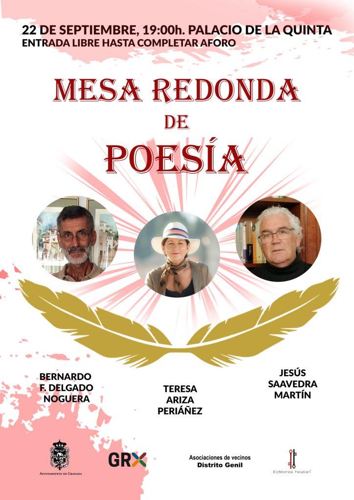 Mesa redonda Poesía - Palacio de La Quinta - 22-09-2021