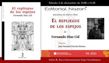 'El repliegue de los espejos' en el FIL de Guadalajara
